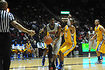 "Ole Miss' Aaron Jones (34) vs. McNeese State at the C.M. ""Tad"" Smith Coliseum in Oxford, Miss. on Tuesday, November 20, 2012. .."