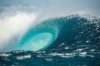 Namotu Island Resort, Namotu, Fiji. (Wednesday May 28, 2014) –  The Fiji Women's Pro, Stop No. 5 of 10 on the 2014  Women's World Championship Tour (WCT) was called on today  at Resturants despite a rising swell at Cloudbreak. 6'-8' south swell.  A  free surf session went down all day at Cloudbreak with some amazing barrels with the swell pushing 8'-10' by late afternoon. Photo: joliphotos.com