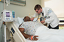 St. Mary's Medical Center. Patient, release 20120524002, left, and Jonathan Galli, class of 2014.