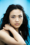 CANNES, FRANCE. MAY 14, 2011. Wu Xia's actress Tang Wei at the Cannes Film Festival. (Photo: Antoine Doyen)