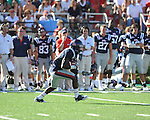 at Vaught-Hemingway Stadium in Oxford, Miss. on Saturday, September 4, 2010. Jacksonville State won 49-48 in double overtime. (AP Photo/Oxford Eagle, Bruce Newman)