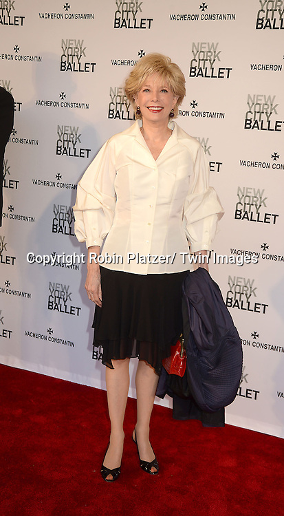 Stahl attends the new york city ballet spring 2013 gala on may 8 2013