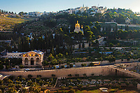 View of the Russian church in Jerusalem, Israel