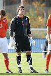 12 November 2008: Clemson's Joseph Bendik. Boston College defeated Clemson University 1-0 in the second sudden-victory overtime period at Koka Booth Stadium at WakeMed Soccer Park in Cary, NC in a men's ACC tournament quarterfinal game.