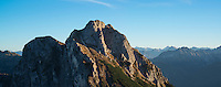 Aggenstein (1987m) viewed from Breitenberg, Allg&auml;u, Bavaria, Germany