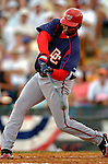 19 March 2006: Michael Tucker, outfielder for the Washington Nationals, at bat during a Spring Training game against the Los Angeles Dodgers at Holeman Stadium, in Vero Beach, Florida. The Dodgers defeated the Nationals 9-1 in Grapefruit League play...Mandatory Photo Credit: Ed Wolfstein Photo..