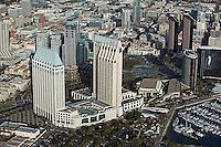 aerial photograph San Diego Hyatt, California
