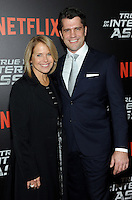 NEW YORK, NY - NOVEMBER 03:  Katie Couric and Director and Writer Jeff Wadlow attends the 'True Memoirs Of An International Assassin' New York premiere at AMC Lincoln Square Theater on November 3, 2016 in New York City. Photo by John Palmer/ MediaPunch