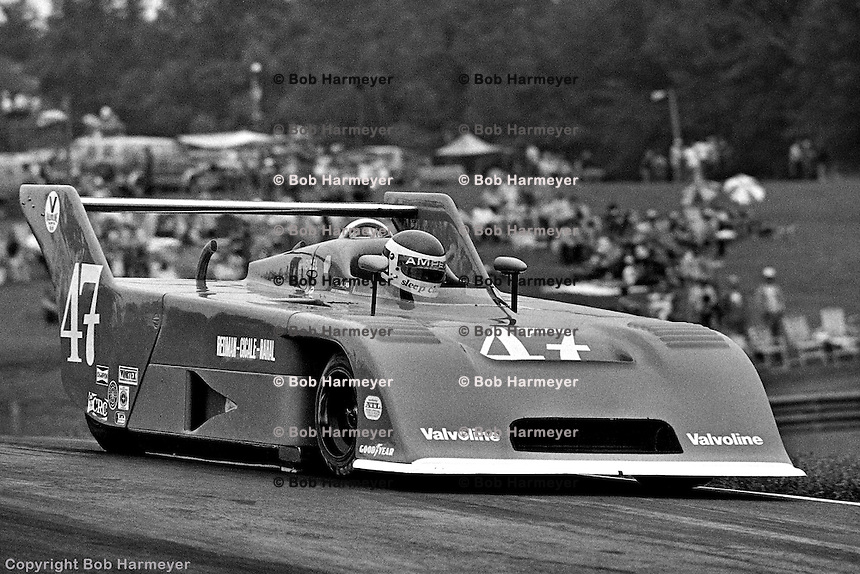 LEXINGTON, OH - AUGUST 26: Bobby Rahal drives a Ralt RT1 to victory in the 1979 Lumbermens 6 Hours race on August 26, 1979, at the Mid-Ohio Sports Car Course near Lexington, Ohio.