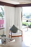 A Luxury room at Insolito with a private veranda.