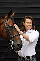 Portraits of Pippa Funnell  by James Horan.<br /> Pippa Funnell is an equestrian sportswoman, regarded as one of the Eventing's sporting elite. She competes in three-day eventing. In 2003 became the first person and currently only person to win Eventing's greatest prize, the Rolex Grand Slam of eventing.