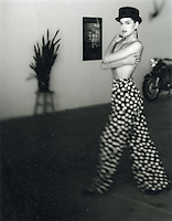 4x5 B&W Polaroid scan - Beauty, Fashion, Topless