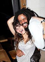 Rohan Marley & girlfriend in Paris