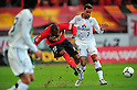 (L to R) Daniel Silva Dos Santos (Grampus), Alex (S-Pulse), MARCH 10, 2012 - Football /Soccer : 2012 J.LEAGUE Division 1 ,1st sec match between Nagoya Grampus 1-0 Shimizu S-Pulse at Toyota Stadium, Aichi, Japan. (Photo by Jun Tsukida/AFLO SPORT) [0003]