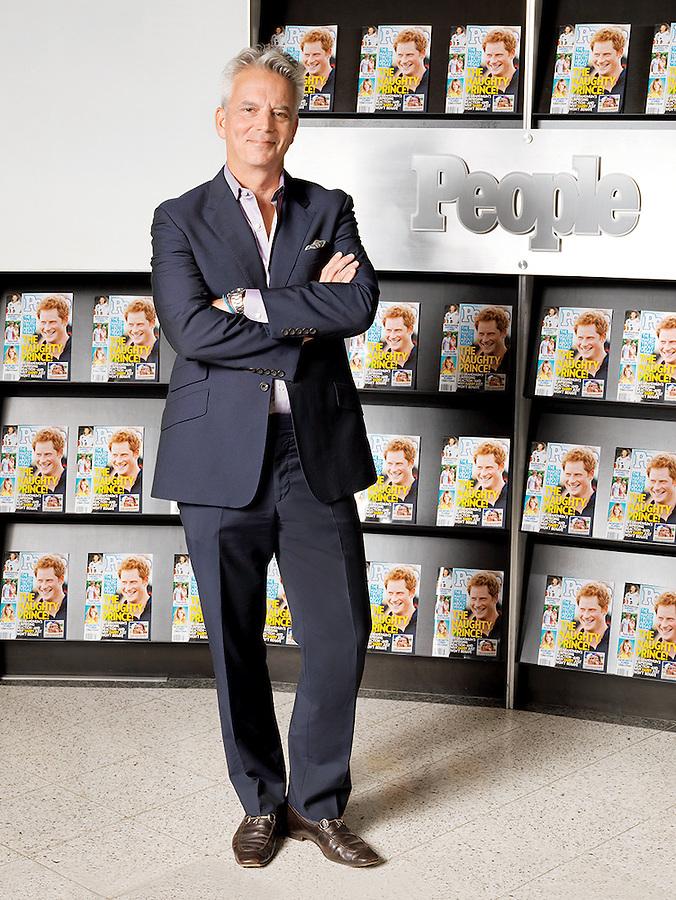 Larry Hackett People magazine, managing editor.