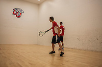 Liberty Universities' racquetball team hosts a tournament on March 1, 2014. (Photo by: James Hancock)
