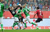 FUSSBALL   1. BUNDESLIGA   SAISON 2012/2013   3. SPIELTAG Hannover 96 - SV Werder Bremen     15.09.2012 Kevin De Bruyne (SV Werder Bremen) erzielt das Tor zum 2:2