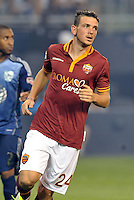 Sporting Park, Kansas City, Kansas, July 31 2013:<br /> Alessandro Florenzi (24) AS Roma.<br /> MLS All-Stars were defeated 3-1 by AS Roma at Sporting Park, Kansas City, KS in the 2013 AT &amp; T All-Star game.