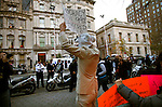 USA - NEW YORK - NYC Occupy Wall Street protesters visit Michael Bloomberg's mansion