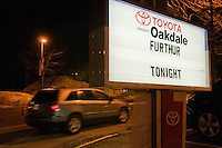 Oakdale Theater Exterior during a Furthur Concert on 8 march 2011