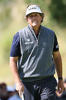 02/19/12 Pacific Palisades: Phil Mickelson during the fourth round of the Northern Trust Open held at the Riviera Country Club