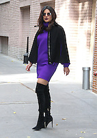 NEW YORK, NY - NOVEMBER 11:  Priyanka Chopra spotted leaving 'The View'  in New York, New York on November 11, 2016.  Photo Credit: Rainmaker Photo/MediaPunch