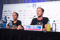 USWNT Press Conference, July 3, 2015