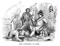King O'Connell at Tara.