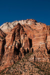 USA Utah, Great Arch of Zion in Zion National Park.