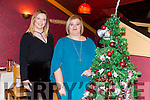 Patrycja Lewkowicz and Helen Kerins enjoying a christmas night out at Ristorante Uno on Saturday