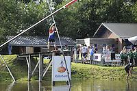 FIERLJEPPEN: BURGUM: 10-09-2016, Pollepleats Nationale Competie, ©foto Martin de Jong
