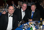 St Johnstone FC Scottish Cup Celebration Dinner at Perth Concert Hall...01.02.15<br /> From left, Charlie Fraser, Stan Harris and Geoff Brown<br /> Picture by Graeme Hart.<br /> Copyright Perthshire Picture Agency<br /> Tel: 01738 623350  Mobile: 07990 594431