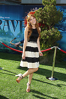 "LOS ANGELES - JUN 18:  Bella Thorne arrives at the ""Brave"" LAFF Premiere at Dolby Theatre on June 18, 2012 in Los Angeles, CA"