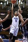 15 November 2016: Duke's Leaonna Odom. The Duke University Blue Devils hosted the Longwood University Lancers at Cameron Indoor Stadium in Durham, North Carolina in a 2016-17 NCAA Division I Women's Basketball game. Duke won the game 105-48.