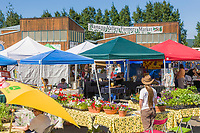 Tanana Valley Farmer's market, Fairbanks, Alaska.