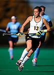 25 October 2009: University of Vermont Catamount midfielder Alana Izzo, a Sophomore from Stowe, VT, in action against the Columbia University Lions at Moulton Winder Field in Burlington, Vermont. The Lions shut out the Catamounts 1-0. Mandatory Credit: Ed Wolfstein Photo