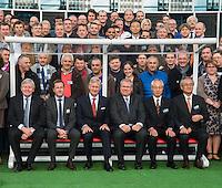 King Philippe of Belgium visits AGC Glass Europe in Gosselies - Belgium