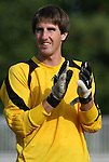 04 September 2009: NC State's Christopher Widman. The North Carolina State University Wolfpack defeated the University of Denver Pioneers 4-0 at Koskinen Stadium in Durham, North Carolina in an NCAA Division I Men's college soccer game.