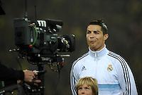 FUSSBALL   CHAMPIONS LEAGUE   SAISON 2012/2013   GRUPPENPHASE   Borussia Dortmund - Real Madrid                                 24.10.2012 Cristiano Ronaldo (Real Madrid) im Fokus der Kamera