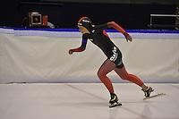 SCHAATSEN: HEERENVEEN: 16-01-2016 IJsstadion Thialf, Trainingswedstrijd Topsport, Irene Schouten, ©foto Martin de Jong