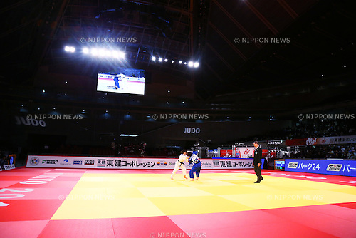 (L-R) Haruna Asami, Ami Kondo (JPN),<br /> DECEMBER 4, 2015 - Judo : <br />  IJF Grand Slam Tokyo 2015 International Judo Tournament<br /> Women's -48kg Final <br /> at Tokyo Metropolitan Gymnasium, Tokyo, Japan. <br /> (Photo by Shingo Ito/AFLO SPORT)