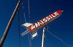 Missile Bar Sign,Oxnard, CA,Feb. 1981