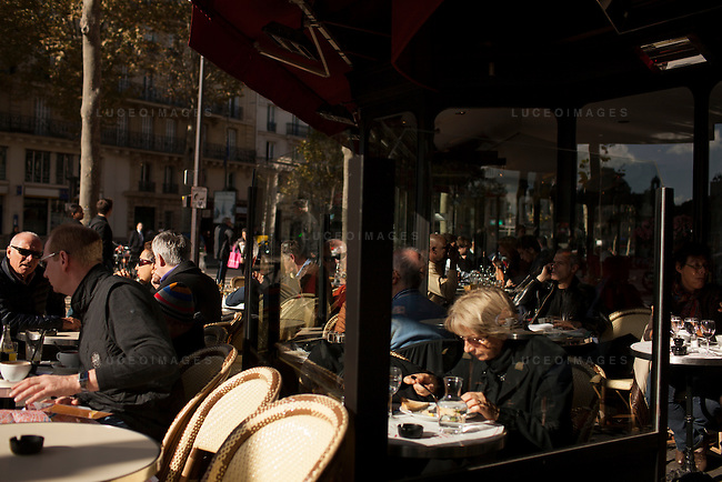 Paris street scenes.<br /> <br /> Kevin German / Luceo