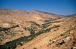 Jordan, a view of the Gilead near Ajlun&amp;#xA;<br />
