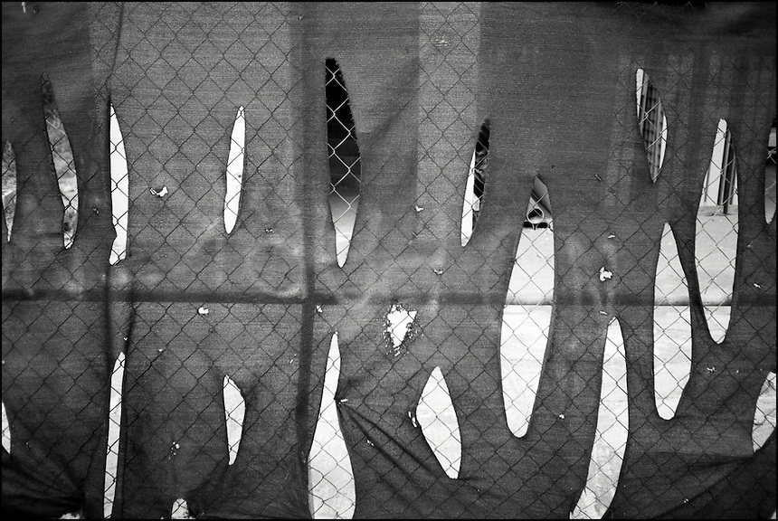 The Fence<br /> From &quot;Miami in Black and White&quot; series. North Miami Beach, 2009