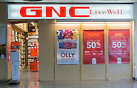 "A GNC store in Lower Manhattan in New York on Tuesday, May 3, 2016. GNC Holdings is reported to be considering selling itself as one of the ""strategic and financial alternatives"" at its disposal to turnaround. The retailer has over 9000 franchises and company owned stores globally.  (© Richard B. Levine)"