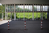 Die ehemaligen Grenzstation in Dolni Dvoriste - von 1955 bis 1989 lag der Ort am Eisernen Vorhang.