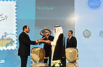 Egyptian President Abdel Fattah al-Sisi, attends the opening of the conference of the Arab Thought Foundation in Cairo, Egypt, on Dec. 06, 2015. Photo by Egyptian President Office