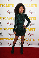 WESTWOOD, CA - April 13: Sofia Wylie, At Premiere Of Swen Group's &quot;The Outcasts&quot; At The Landmark Regent  In California on April 13, 2017. <br /> CAP/MPIFS<br /> &copy;MPIFS/Capital Pictures