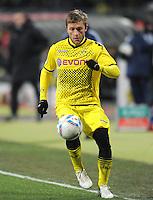 FUSSBALL   1. BUNDESLIGA  SAISON 2011/2012   20. Spieltag 1. FC Nuernberg - Borussia Dortmund         03.02.2012 Jakub  KUBA Blaszczykowski (Borussia Dortmund)
